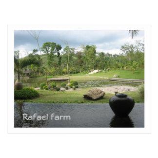 Carte Postale Ferme de Rafaël