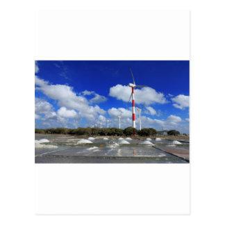 Carte Postale Ferme Sri Lanka de turbine de vent