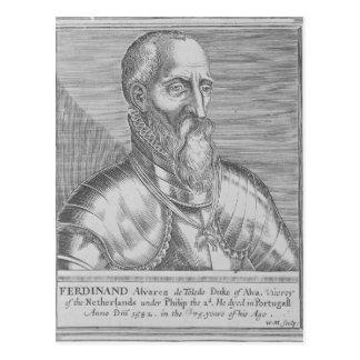 Carte Postale Fernando Alvarez De Toledo, 3ème duc d'alba