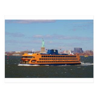 Carte Postale Ferry de Staten Island