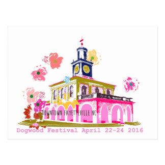 Carte Postale Festival 2016 Fayetteville du centre OR de