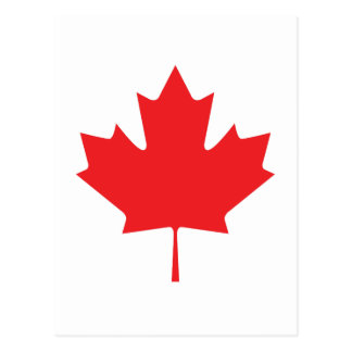 CARTE POSTALE FEUILLE CANADIENNE