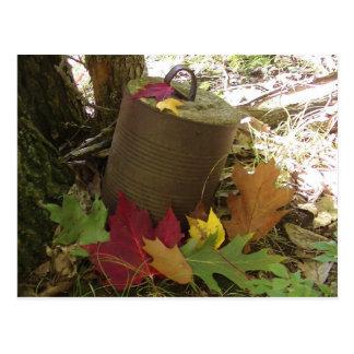 Carte Postale Feuille d'automne dans l'automne