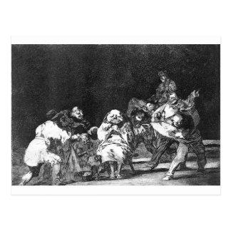 Carte Postale Fidélité par Francisco Goya