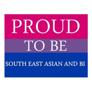 Carte Postale Fier d'être au sud-est Asiatique et Bi