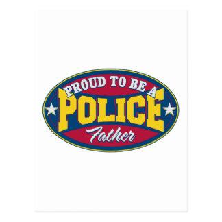 Carte Postale Fier d'être une police engendrez
