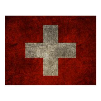 Carte Postale Fier et suisse