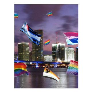 Carte Postale Fierté de Miami