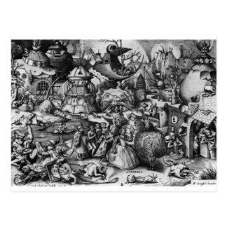 Carte Postale Fierté par Pieter Bruegel l'aîné