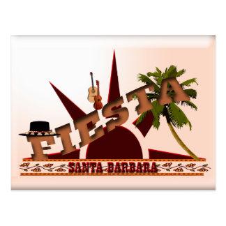 Carte Postale Fiesta de Santa Barbara