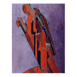 Carte Postale Figure étude - conception pour la sculpture