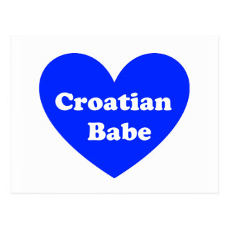 Carte Postale Fille croate