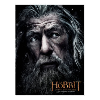Carte Postale Fin de Gandalf