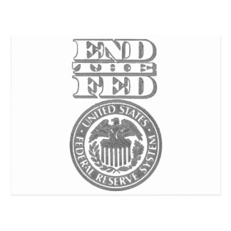 Carte Postale Finissez le Fed