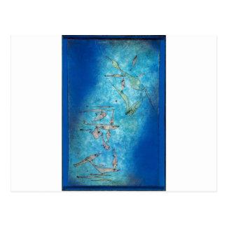 Carte Postale Fish Image - Paul Klee