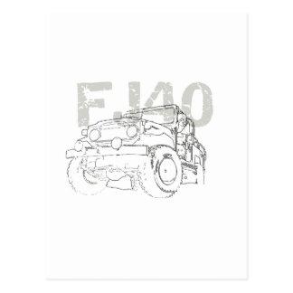 Carte Postale FJ40 romain