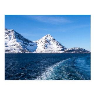 Carte Postale Fjord norvégien