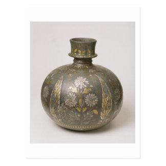 Carte Postale Flacon de Mughal (métal ouvré)