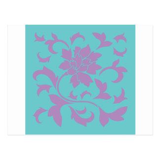 Carte Postale Fleur orientale - menthe de lilas