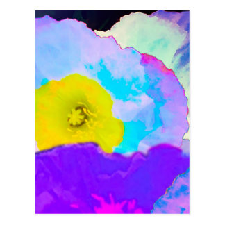 Carte Postale Fleurs vibrantes