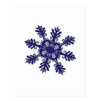 Carte Postale Flocon de neige II