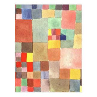 Carte Postale Flora sur le sable par Paul Klee
