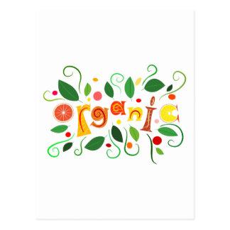Carte Postale Floramentina - art organique
