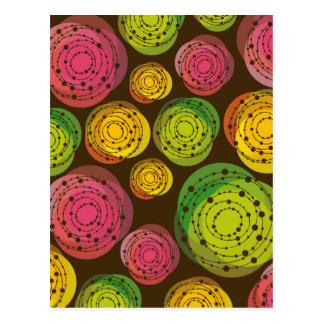 Carte Postale flower design