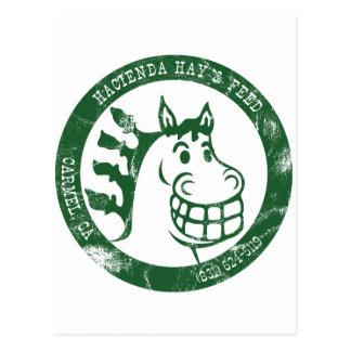 Carte Postale Foin et alimentation de Hacienda