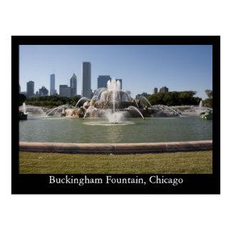 Carte Postale Fontaine de Buckingham, Chicago