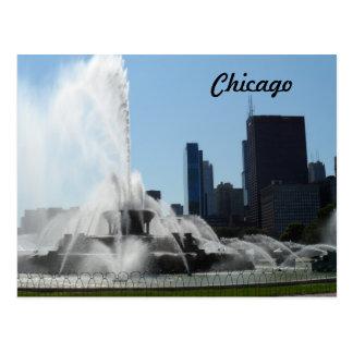 Carte Postale Fontaine de Buckingham - Chicago