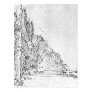 Carte Postale Fort entre les montagnes et la mer par Albrecht