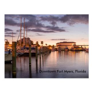 Carte Postale Fort Myers du centre, la Floride