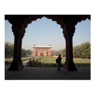 Carte Postale Fort rouge à Delhi
