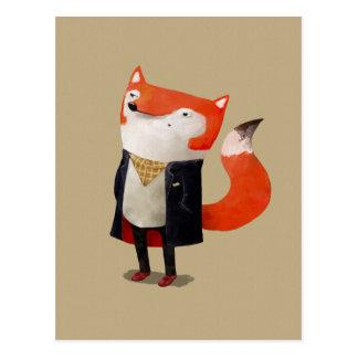 Carte Postale Fox de Smart