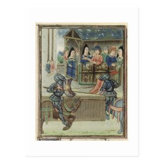 Carte Postale Fr.16830 f.16v font la chronique de Jacques de