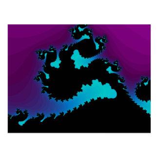 Carte Postale Fractale de dragon :