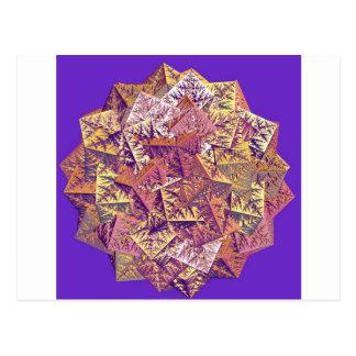 Carte Postale Fractale Piramids