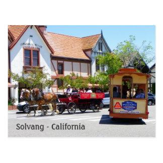 Carte postale fraîche de Solvang !