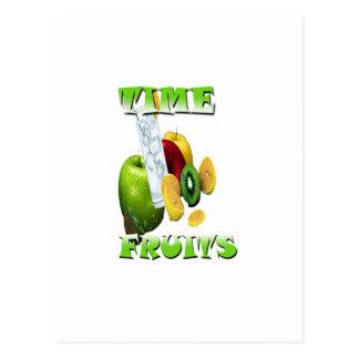 Carte Postale Fraîcheur naturelle de fruit
