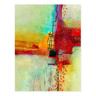 Carte Postale frais-peinture
