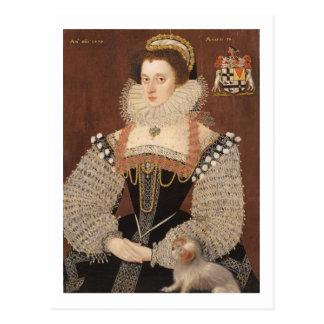Carte Postale Frances Clinton, Madame Chandos (1552-1623) 1579