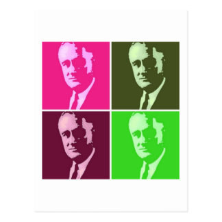 Carte Postale Franklin D. Roosevelt