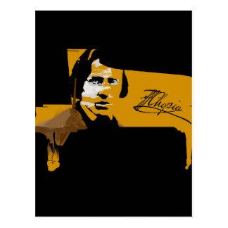 Carte Postale Frederic Chopin