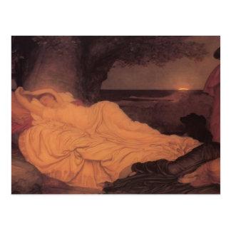 Carte Postale Frederic Leighton- Cymon et Iphigenia