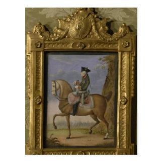 Carte Postale Frederick II à cheval