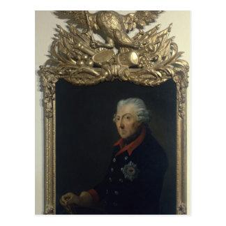 Carte Postale Frederick II de la Prusse