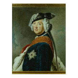 Carte Postale Frederick II le grand de la Prusse