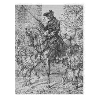 Carte Postale Frederick le grand de la Prusse