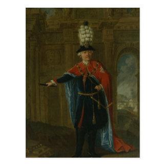 Carte Postale Frederick le grand habillé dans le costume